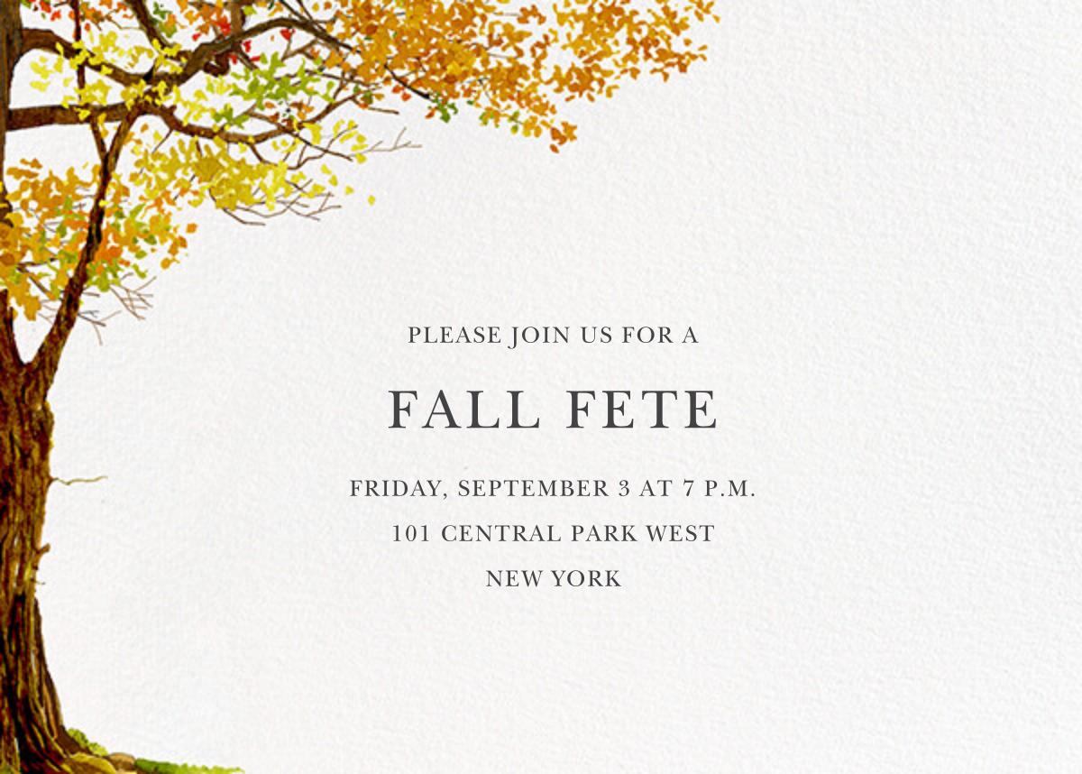 Autumn Tree - Felix Doolittle