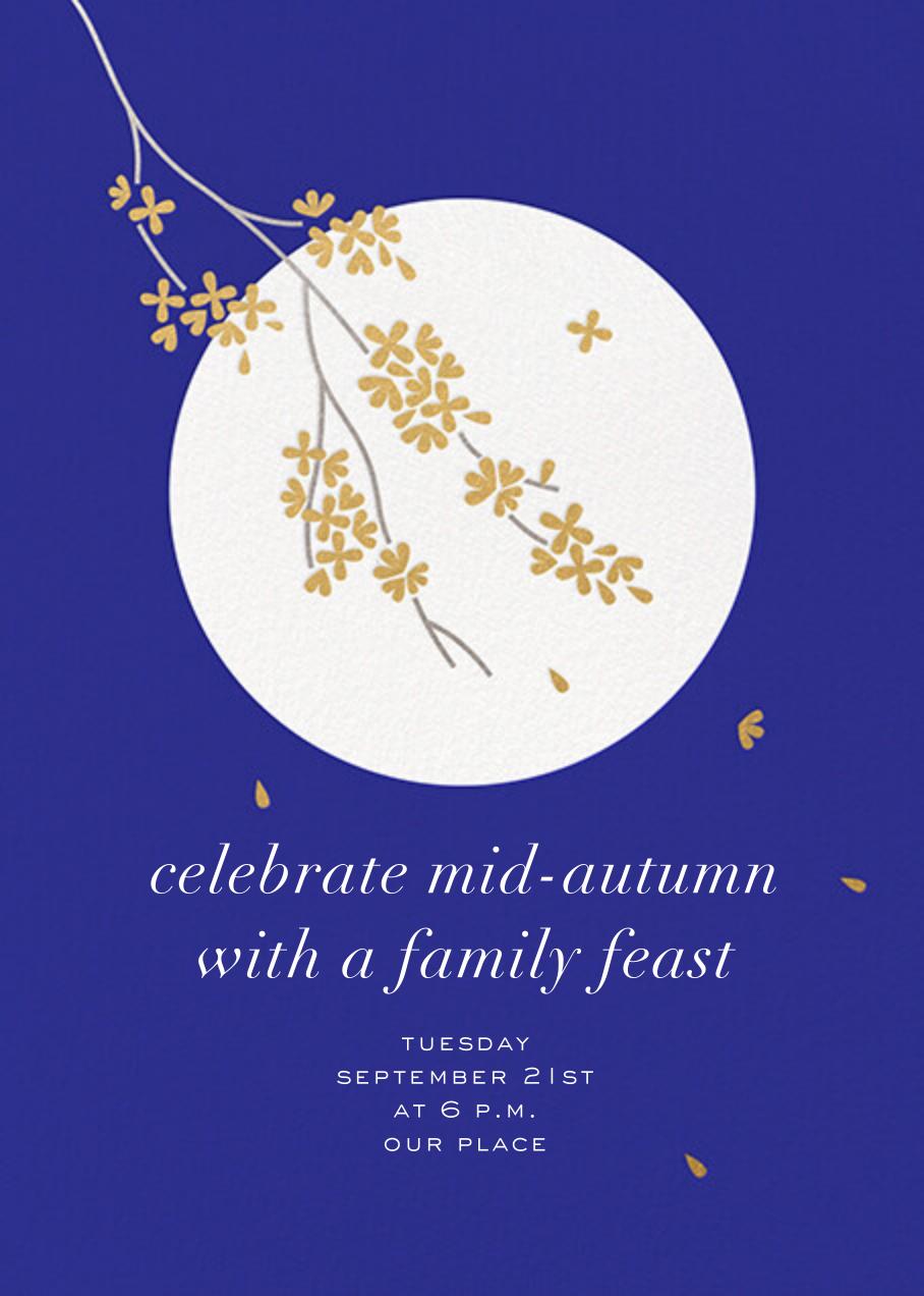 Mid-Autumn Moon - Paperless Post