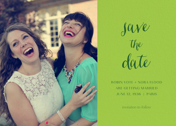 Photo Spread - Charterhouse - Paperless Post - Save the date