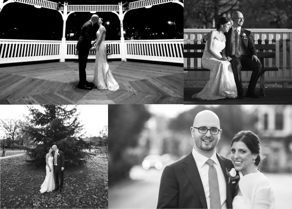 Four Photo Thank You Card - Paperless Post - Wedding