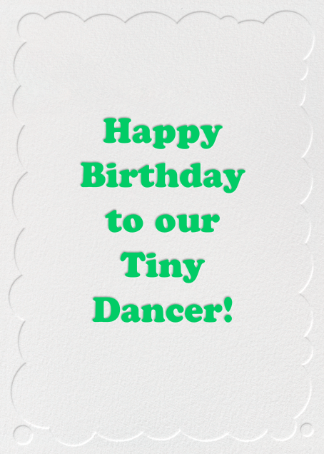Confetti Letters - Happy Birthday - Paperless Post - Birthday - card back