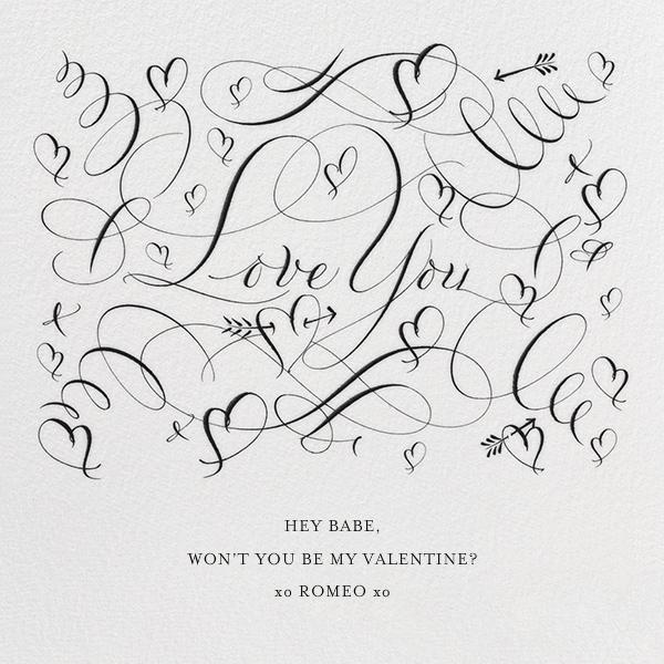 Love You - Black - Bernard Maisner