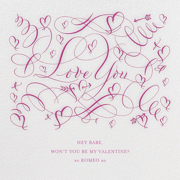 Love You - Fuschia - Bernard Maisner