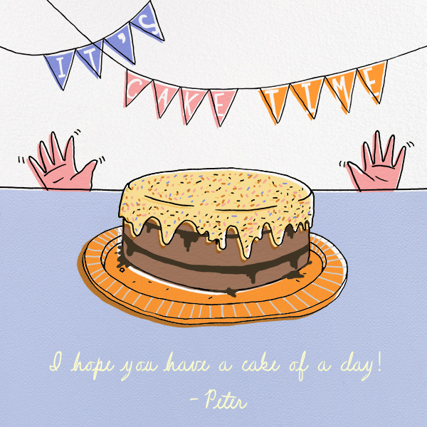 Almost Cake Time - Paperless Post - Free birthday eCards