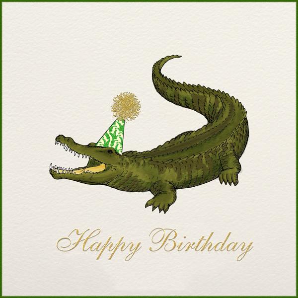 Crocodile Birthday - Paperless Post - Birthday