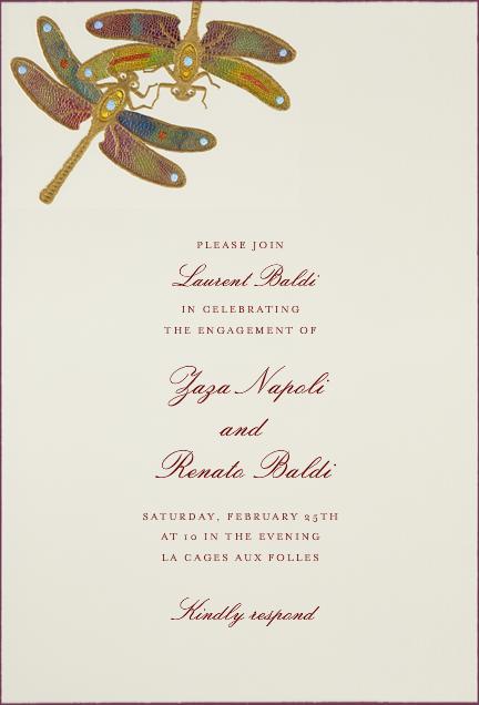 Dragonflies - Yellow Purple - Bernard Maisner - General entertaining