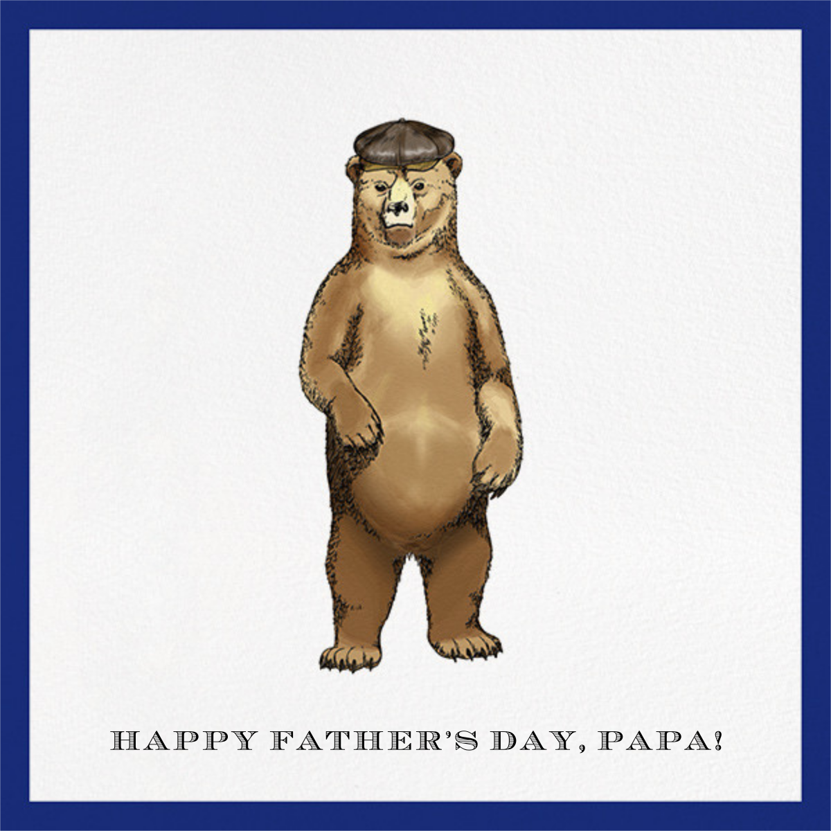 Grizzly Bear - Paperless Post - Father's Day