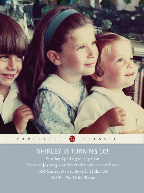 Paperback Edition - Pacific - Paperless Post - Kids' birthday