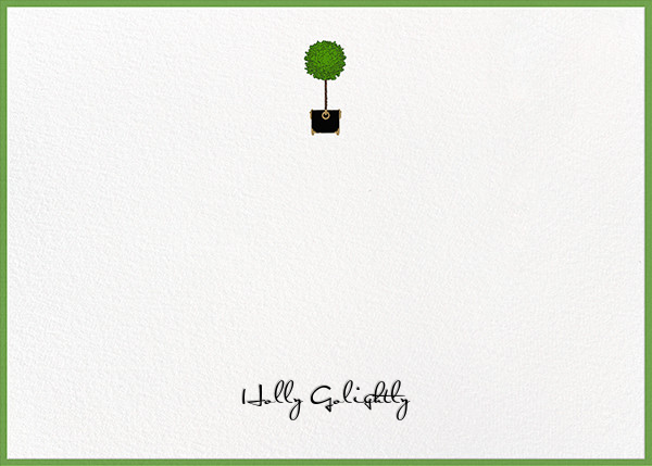 Topiary - Paperless Post - Personalized stationery