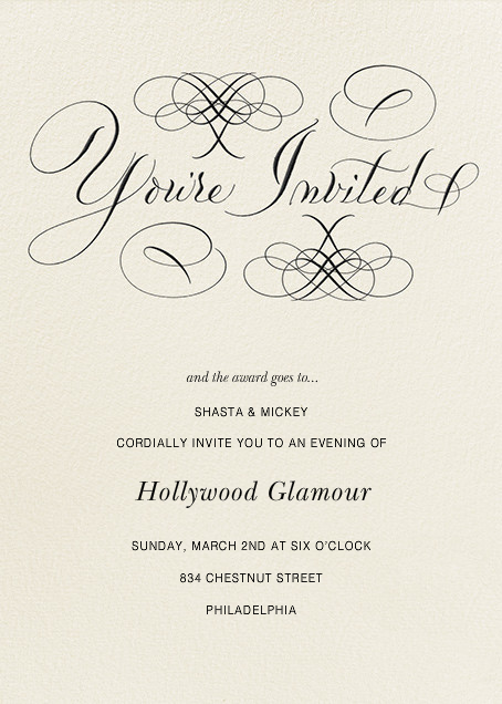 You're Invited - Cream - Bernard Maisner - Bernard Maisner Studio