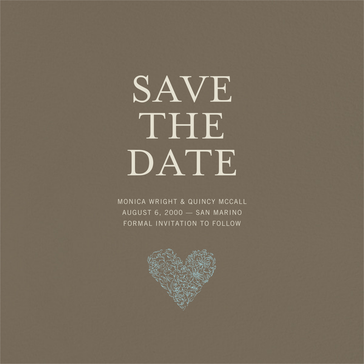 Clay (Save the Date) - Paperless Post - Party save the dates
