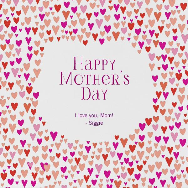 Baby Love - Pinks - Mr. Boddington's Studio - Mother's Day
