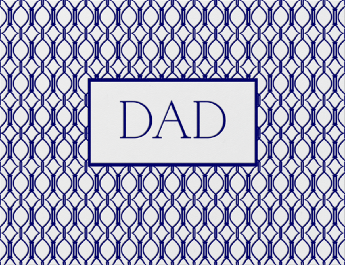 Cadogan (Navy) - Paperless Post - Father's Day