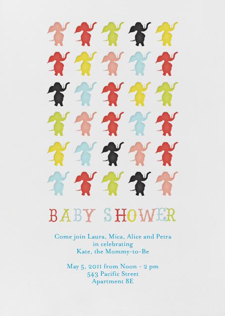 Elephants Parade Madison - Japanese Mix - Mr. Boddington's Studio - Baby shower