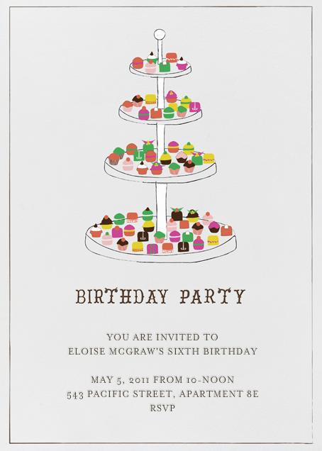 Everyone Loves Sweets - Birthday - Mr. Boddington's Studio - Kids' birthday
