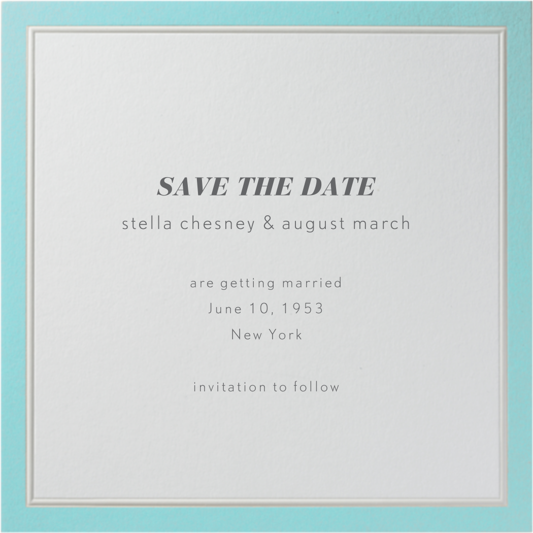 Grasse - Paperless Post - Save the date