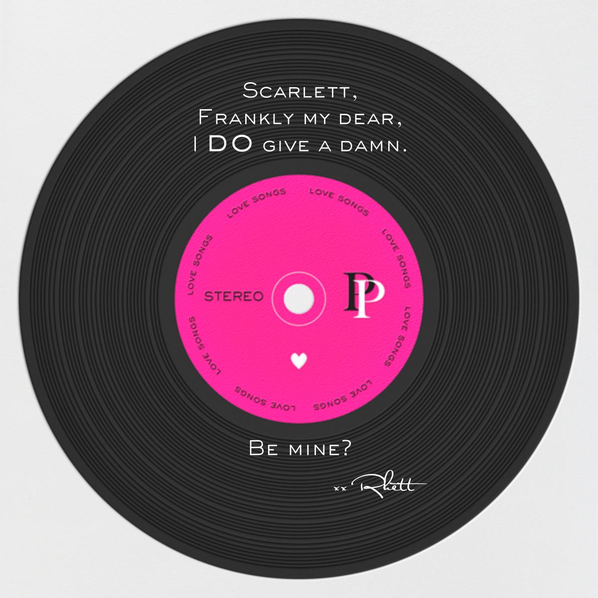 Love Album - Black - Paperless Post - null - card back