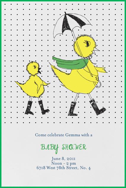 Mama Duck - Great Scot - Mr. Boddington's Studio - Baby shower