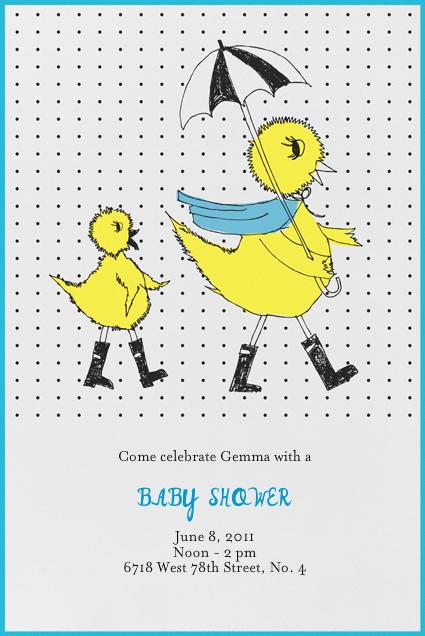 Mama Duck - Royal - Mr. Boddington's Studio - Baby shower