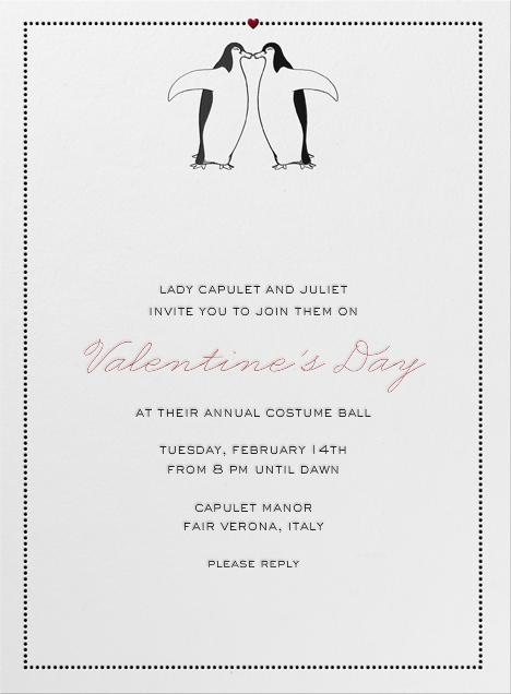 Penguin Love - Paperless Post - Valentine's Day