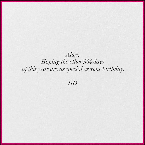 Poodle Birthday - Paperless Post - Birthday - card back