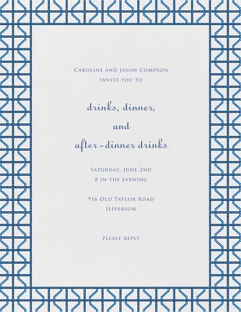 Rive Gauche - Blue - Paperless Post