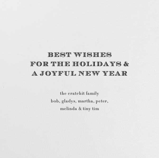 Sleigh - Paperless Post - Christmas - card back