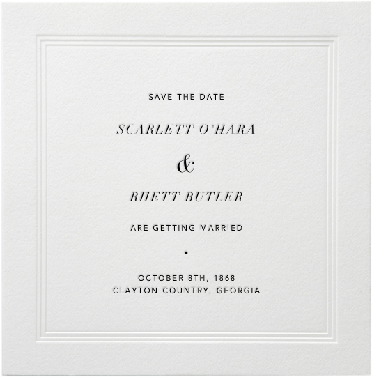 Standard Square - Paperless Post - Party save the dates