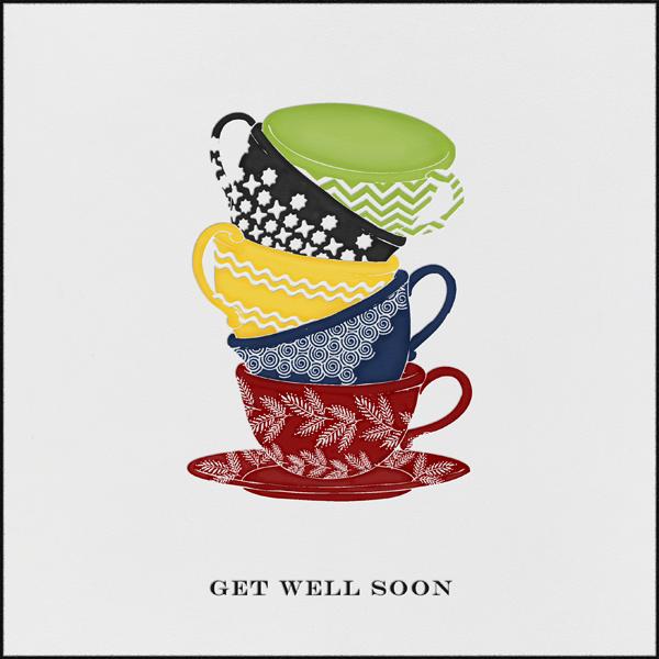 Tea Cups - Get Well Soon - Paperless Post - Get well