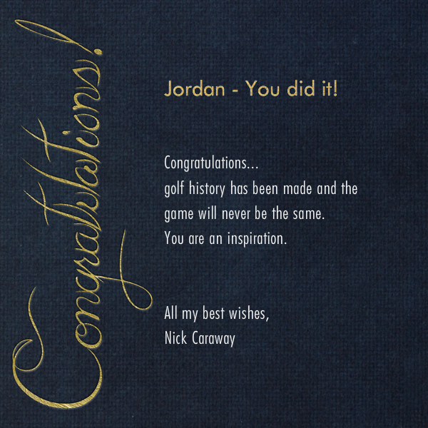 Formal Congratulations (Midnight) - Paperless Post - Congratulations