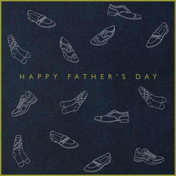 Loafers and Brogues (Midnight) - Paperless Post - Father's Day