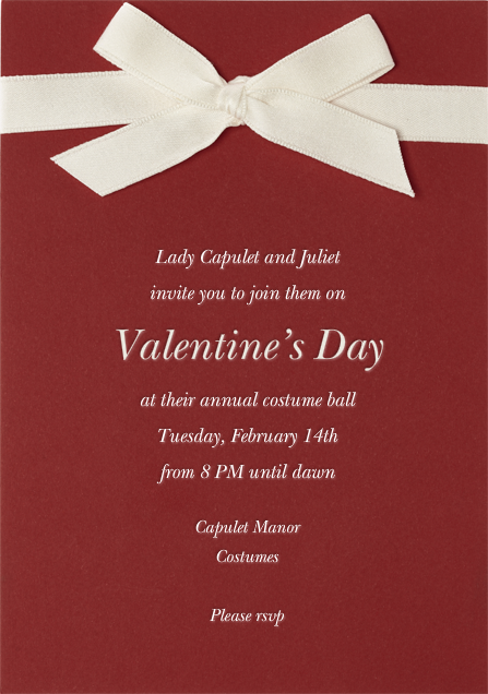 Dunster - Paperless Post - Valentine's Day