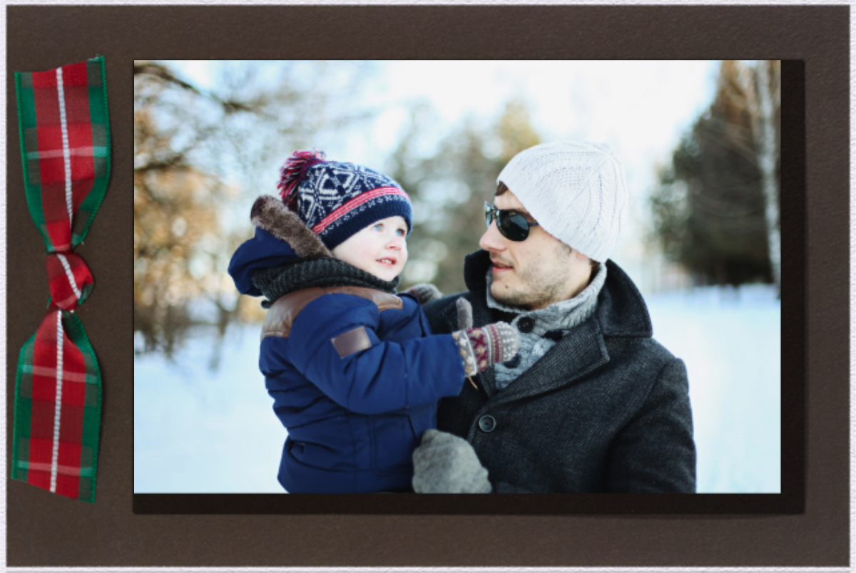 Valrhona Tartan - Paperless Post - Holiday cards