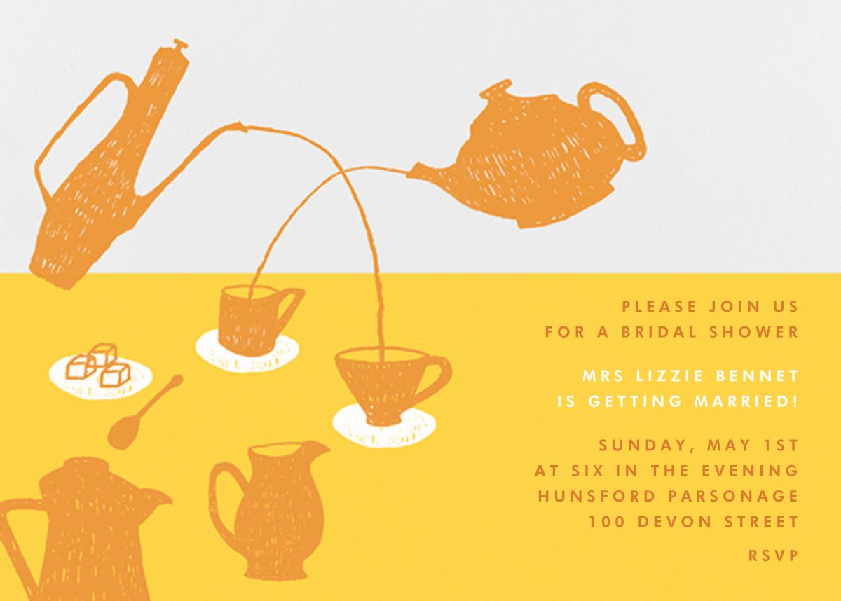 Pour Me A Cup - (Citrus And Mango) - Paperless Post - Bridal shower