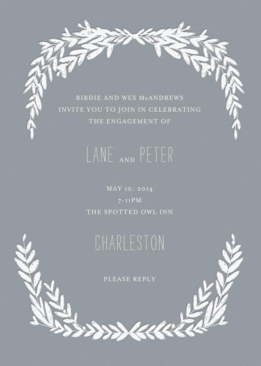 Laurel in Love - Gray - Mr. Boddington's Studio - Engagement party