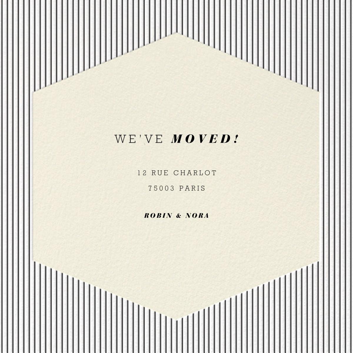 Plaza Square - Cream - Paperless Post - Moving