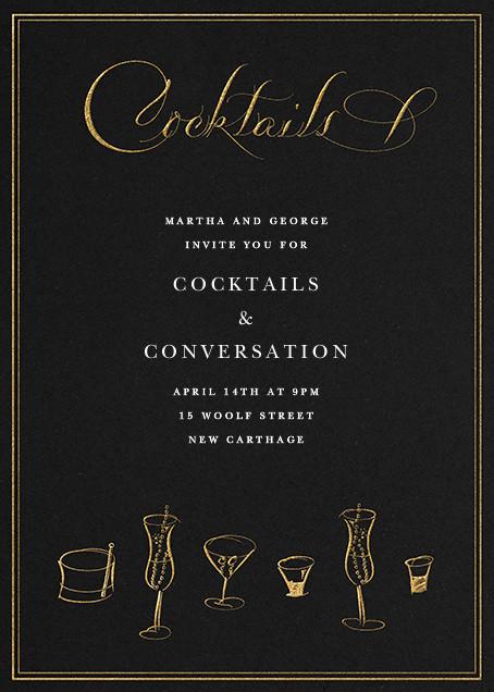 Cocktails - Bernard Maisner - Cocktail party