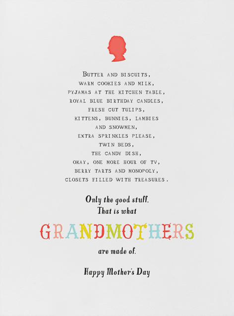 Grandmommy's House - Mr. Boddington's Studio - Mother's Day