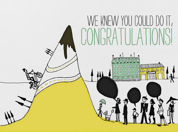 Just Ten More Miles - Mr. Boddington's Studio - Congratulations