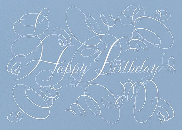 Happy Birthday - Blue - Bernard Maisner - Birthday