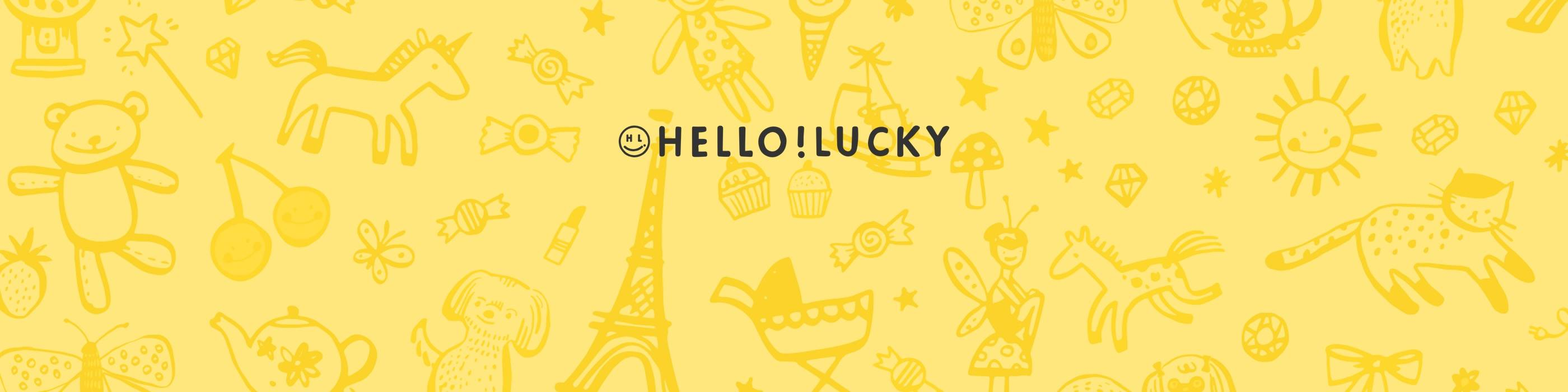 Hello!Lucky for Paperless Post