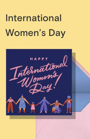 International Women's Day cards