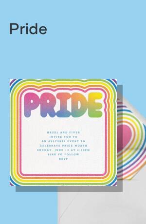 Pride invitations