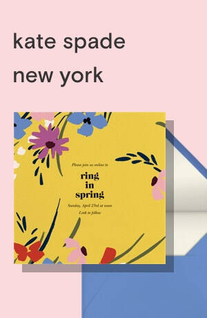kate spade new york invitations