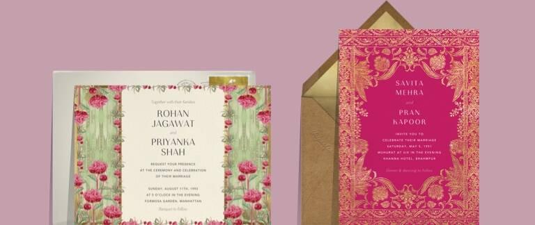 Indian Wedding Cards Send Online Instantly Rsvp Tracking