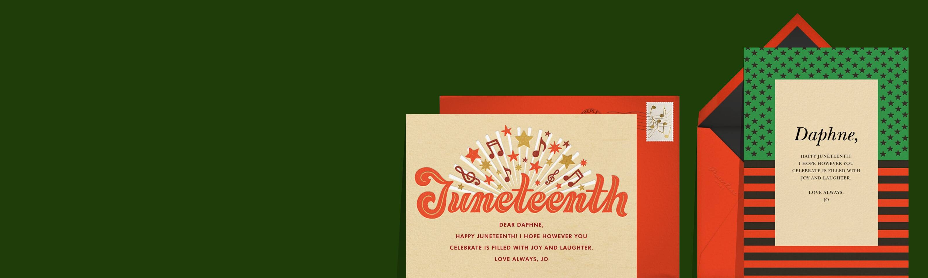 Juneteenth cards