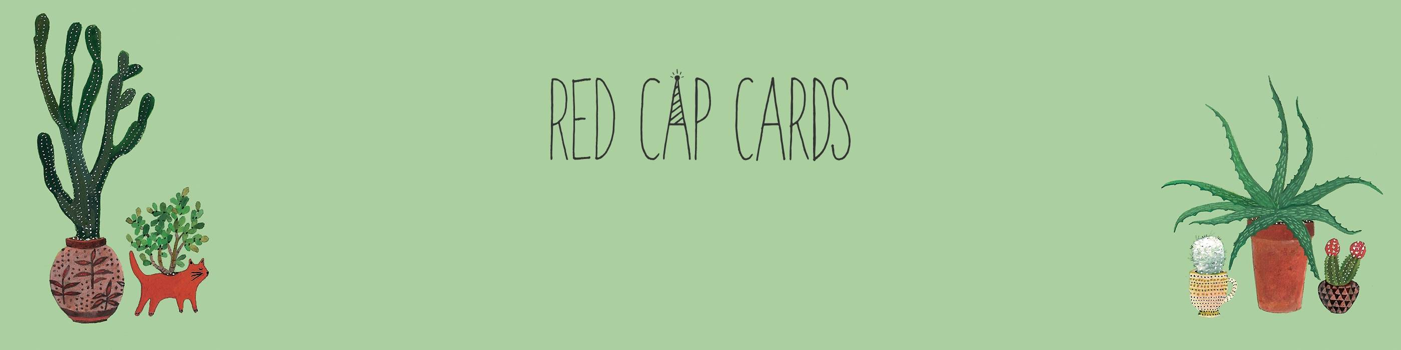 Red Cap Cards for Paperless Post